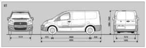 Location utilitaire 4-6m3 Fiat Scudo